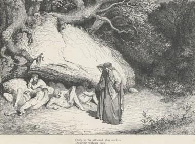 Inferno Canto 4 il Limbo dei non battezzati